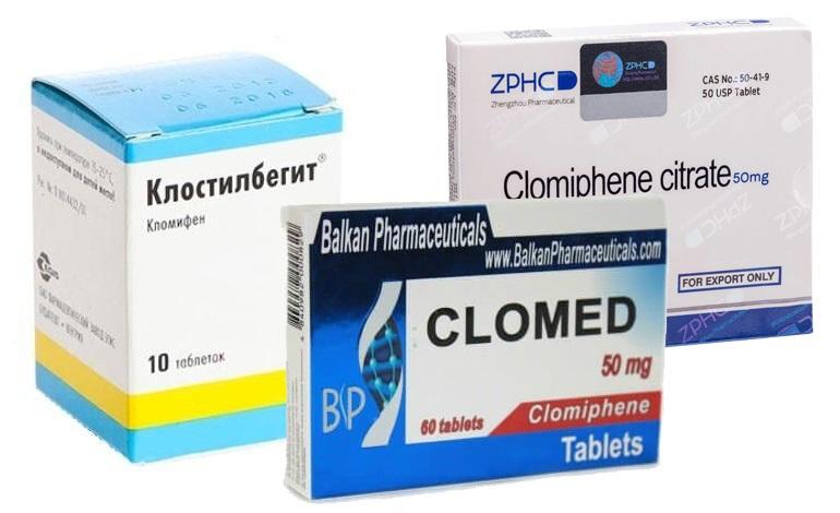 Кломифен, кломид и клостилбегит