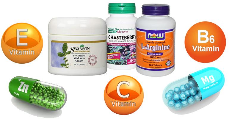 Питательные элементы и натуральные средства для повышения уровня прогестерона