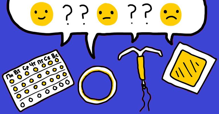 Влияние гормональных контрацептивов на настроение