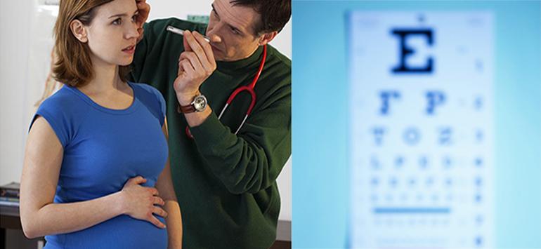 Как сохранить зрение после родов? Болят глаза после родов