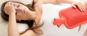 Спазматические боли в животе у женщины