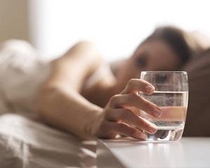 Питье воды утром