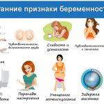 Ранние симптомы беременности