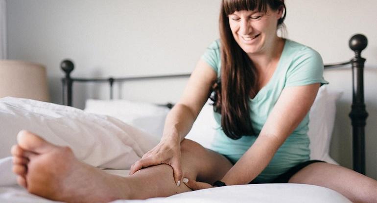 Судорога в ноге у беременной женщины