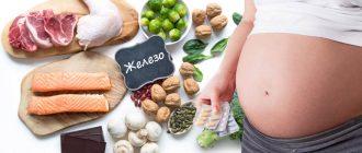 Беременность и богатые железом продукты