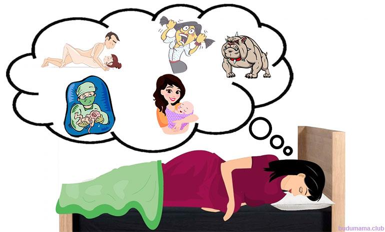 Сны беременной женщины